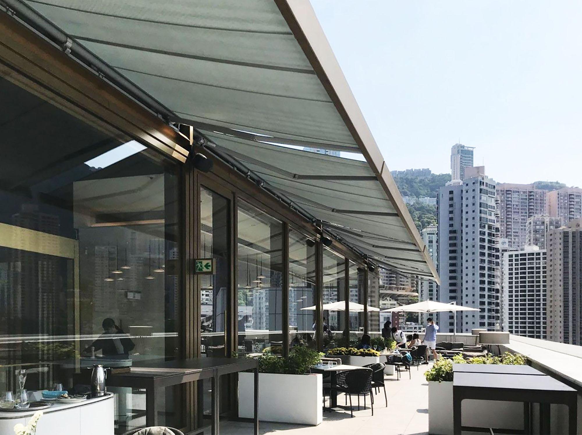 SQ2 Awnings for Hong Kong