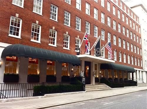 Commercial Awning Re-design for Mayfair Restaurant | Morco ...
