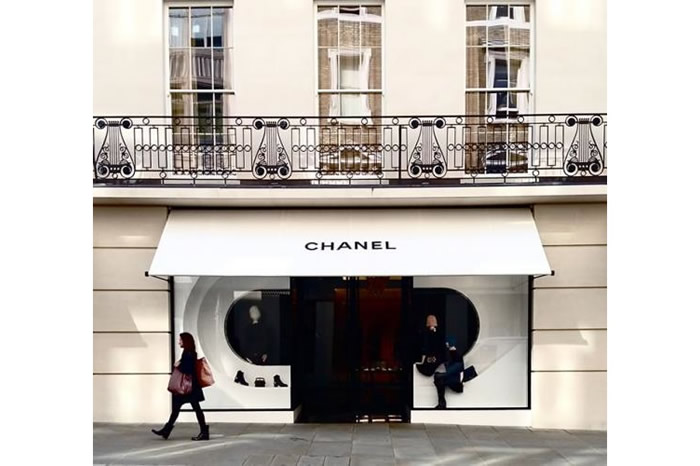 Greenwich® Awning for Chanel Flagship store
