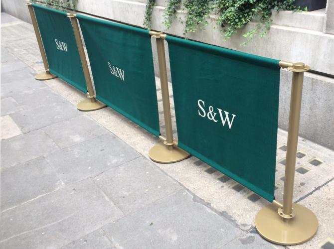 Classic Fabric Barriers for Smith and Wolensky