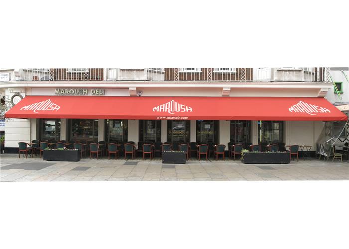 Fremantle Parisian® Terrace Awning for Maroush deli and juice bar