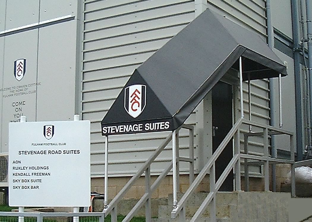 Walkway Canopy at Fulham Football Club