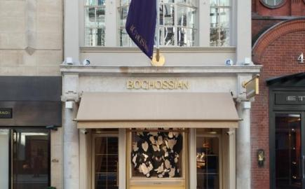 Greenwich® Awning for Boghossian Flagship Store, London