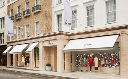 Greenwich Awning® for the Christian Dior Flagship Store in Bond Street