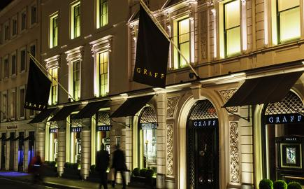 Marlesbury Awning® for Graff Diamonds in Bond Street