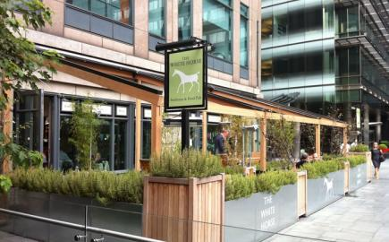 The White Horse in Broadgate with Bellfort Awning®