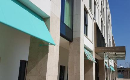 Greenwich Awning® for the Tamburlaine Hotel, Cambridge